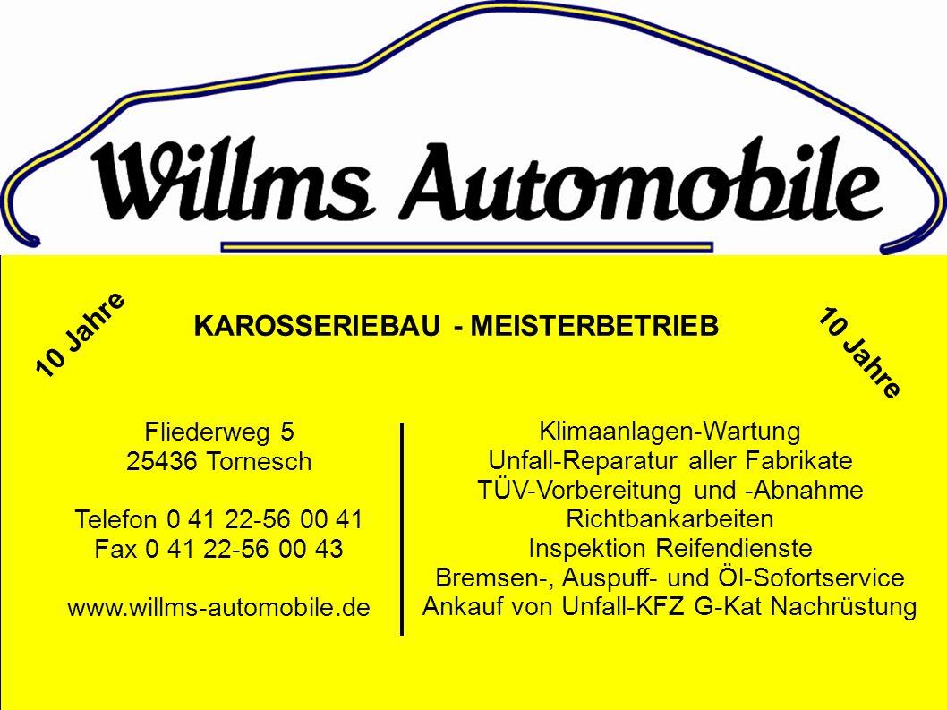Klimaanlagen-Wartung Unfall-Reparatur aller Fabrikate TÜV-Vorbereitung und -Abnahme Richtbankarbeiten Inspektion Reifendienste Bremsen-, Auspuff- und