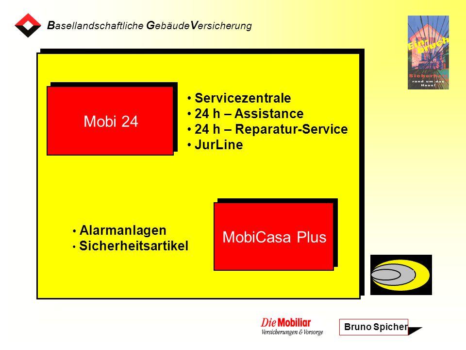 B asellandschaftliche G ebäude V ersicherung Bruno Spicher Einbruchdiebstähle 2002 Schweiz: 60822 Kanton Basel-Landschaft: 1698
