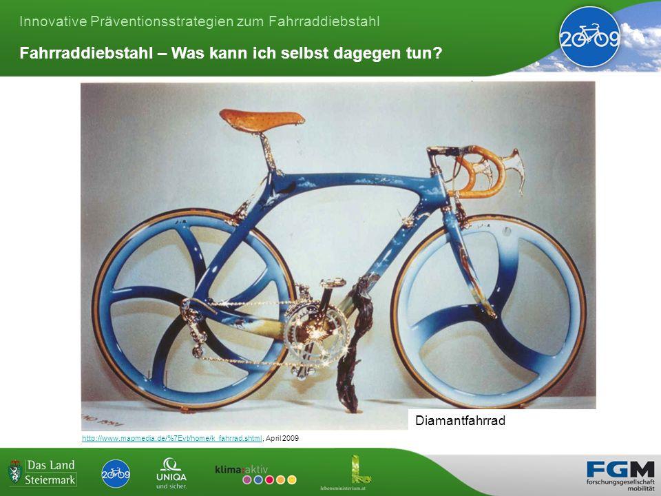 Innovative Präventionsstrategien zum Fahrraddiebstahl Fahrraddiebstahl – Was kann ich selbst dagegen tun.