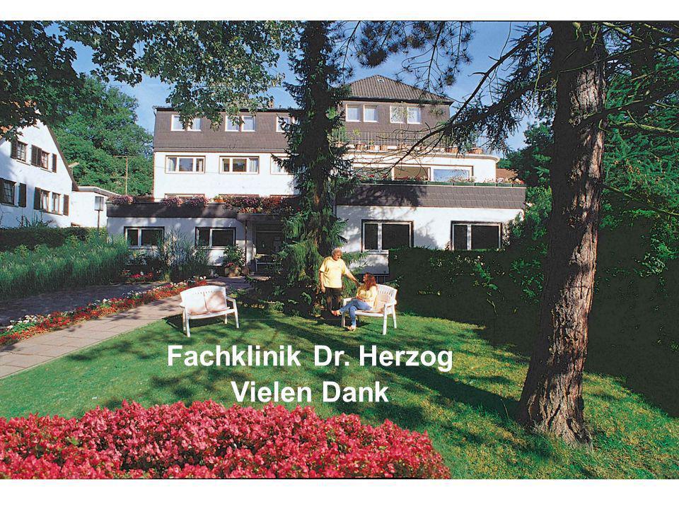 Fachklinik Dr. Herzog Vielen Dank