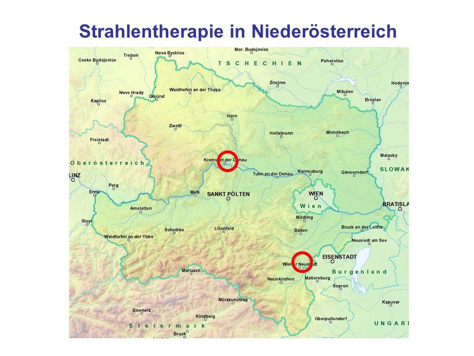 Strahlentherapie in Niederösterreich