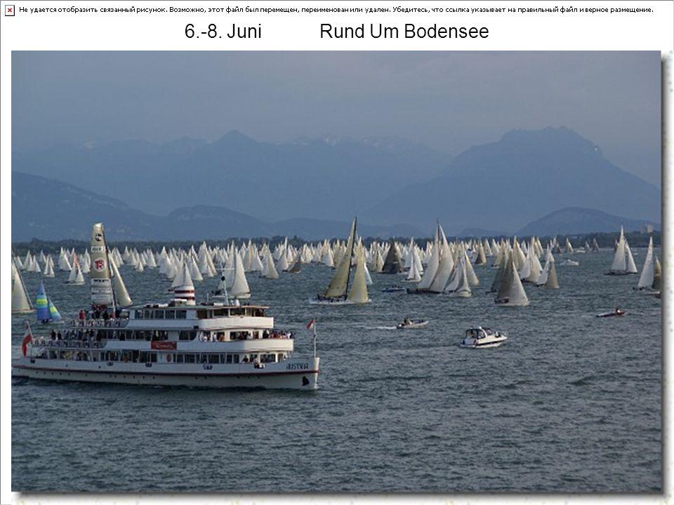 Termine 08 Mai 10.Training 17.Ansegeln SCK + SCAtt Juni 6.-8.Rund Um Bodensee ??? 7.AC SSCS Litzlberg ??? 14.AC Motoryachtclub Kammer 28.AC SCAtt Hage