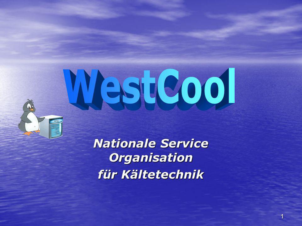 1 Nationale Service Organisation für Kältetechnik
