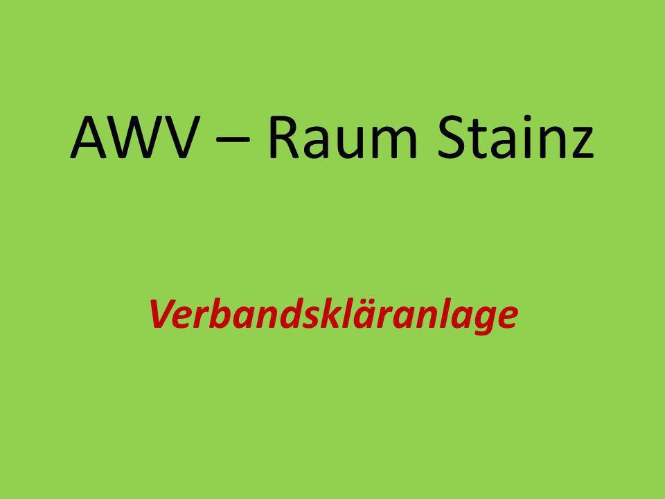AWV – Raum Stainz Verbandskläranlage