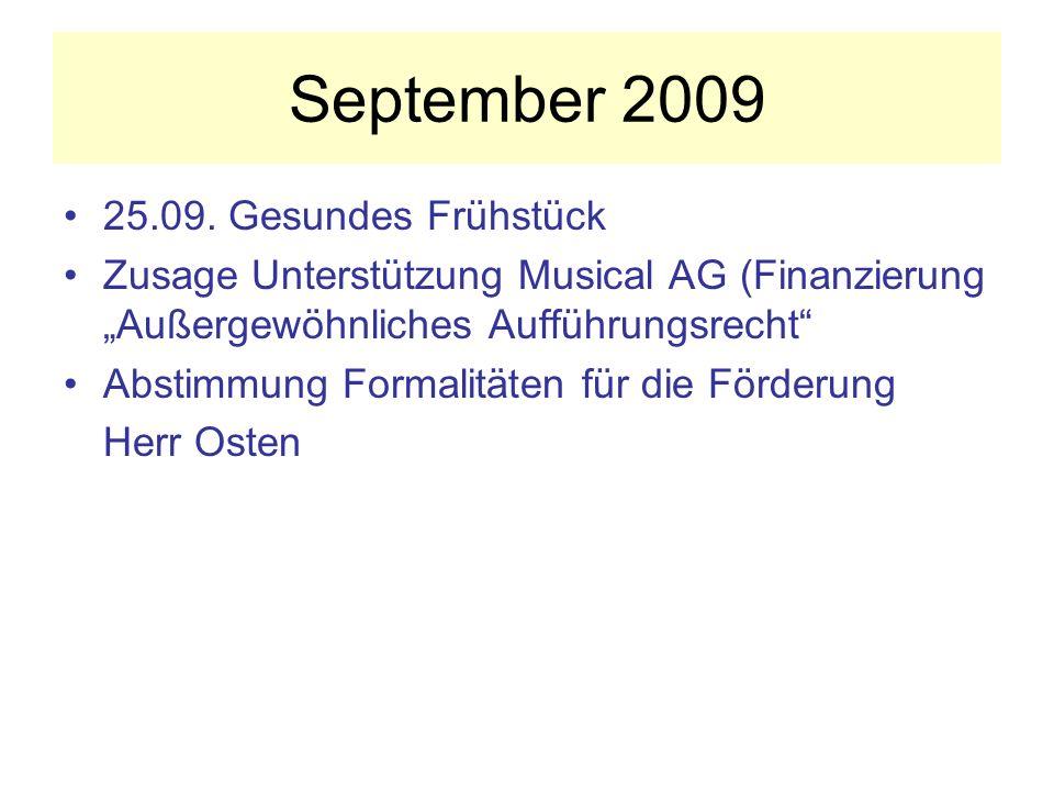 September 2009 25.09.