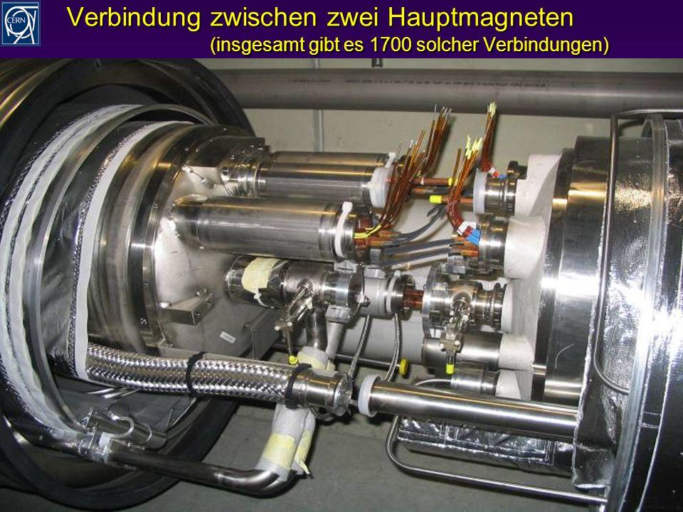 R.Schmidt - Ausstellung Weltmaschine 14 Verbindung zwischen zwei Hauptmagneten (insgesamt gibt es 1700 solcher Verbindungen)