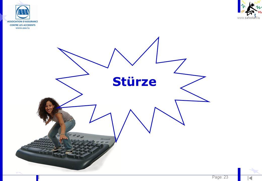 www.safestart.lu Page: 23 Stürze