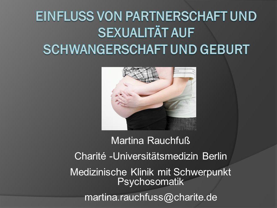 Sexualität und Mutterschaft Veränderungen im Sexualverhalten während der Schwangerschaft Veränderungen der Koitusfrequenz Bogren, L.