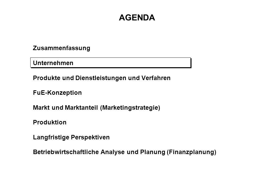 ORGANISATION DES UNTERNEHMENS DL:Dienstleistung P:Produkt Ein Unternehmen mit mehreren Einheiten Holding Martinsried Bionet Proteins GmbH (Halle) 1999 Aufbau: + Halle: int.