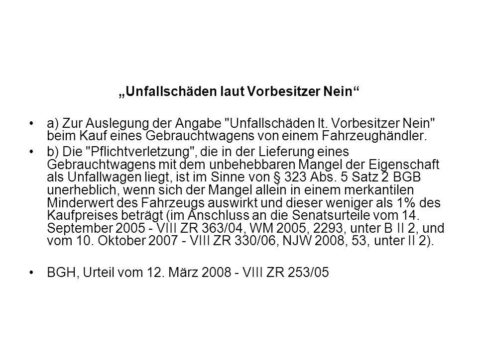 Vertragsgestaltung aus BGH, Versäumnisurteil vom 10.