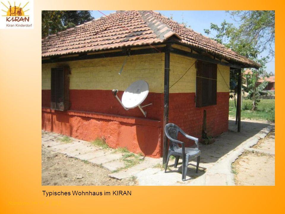 Rotmonten HV 17. 6. 2012 Typisches Wohnhaus im KIRAN
