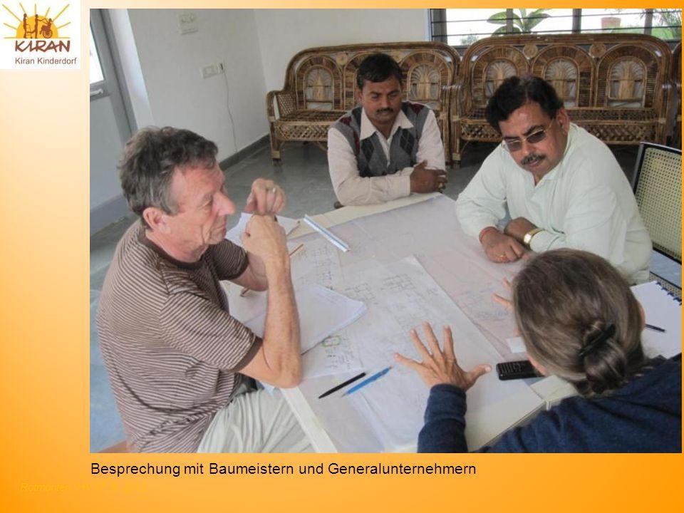 Rotmonten HV 17. 6. 2012 Besprechung mit Baumeistern und Generalunternehmern