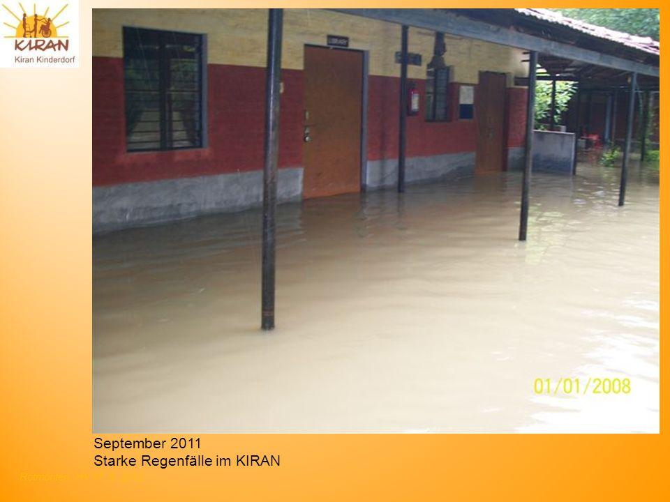 Rotmonten HV 17. 6. 2012 September 2011 Starke Regenfälle im KIRAN