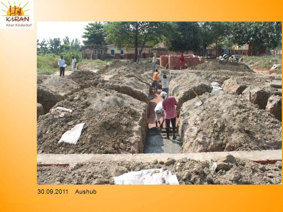 Rotmonten HV 17. 6. 2012 30.09.2011 Aushub