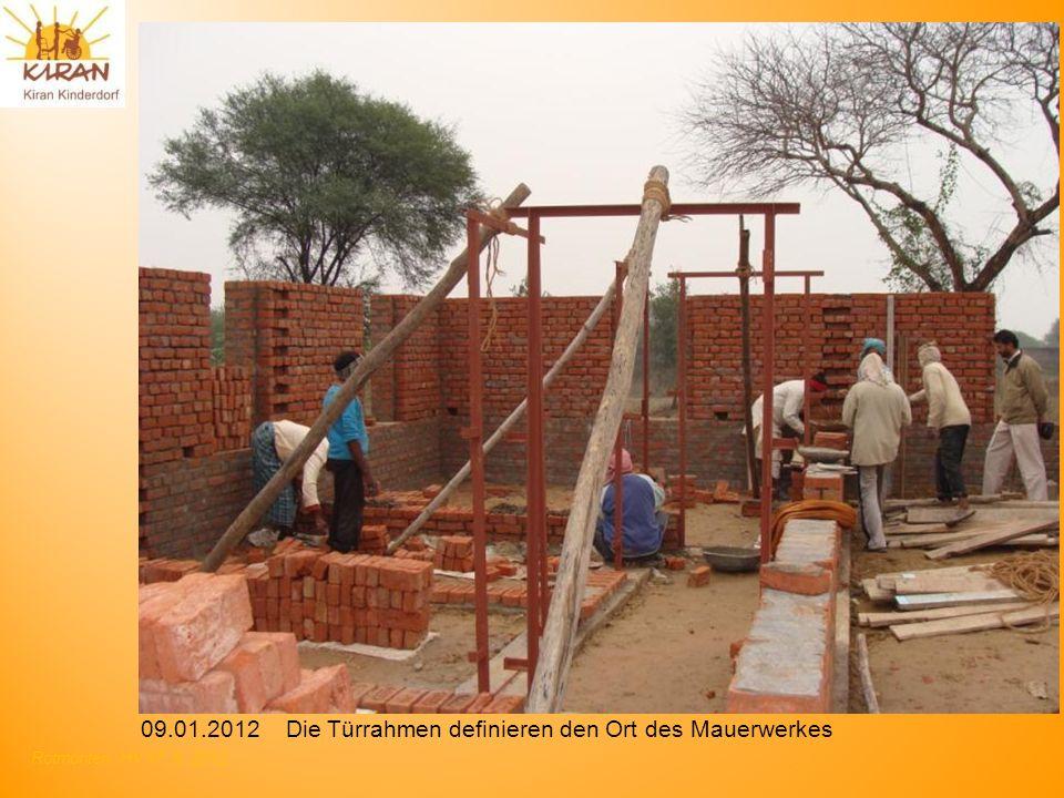 Rotmonten HV 17. 6. 2012 09.01.2012 Die Türrahmen definieren den Ort des Mauerwerkes