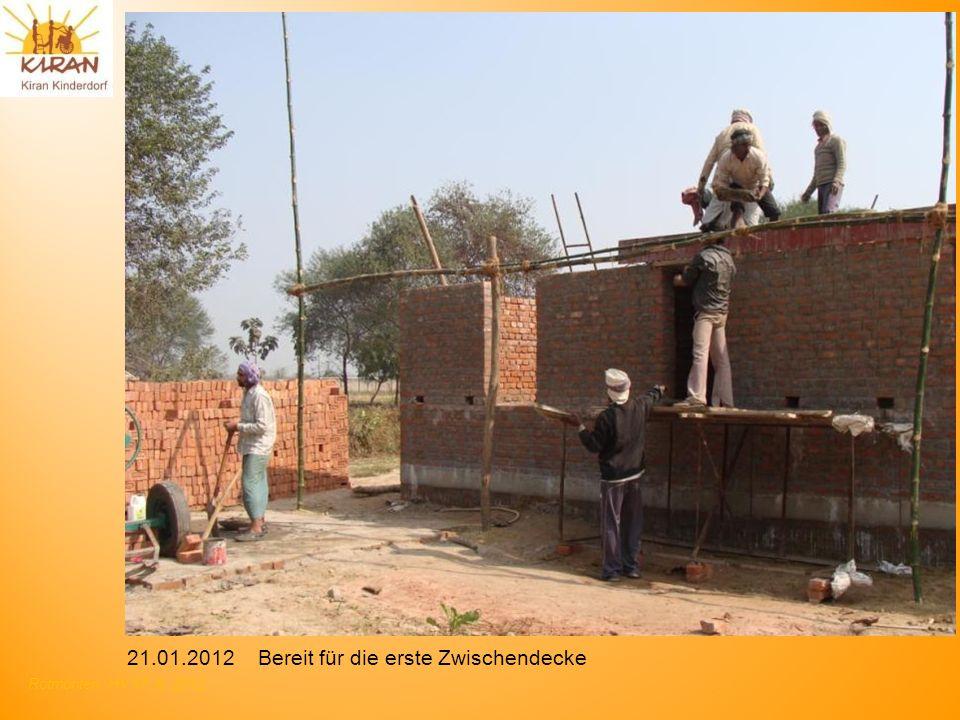 Rotmonten HV 17. 6. 2012 21.01.2012 Bereit für die erste Zwischendecke