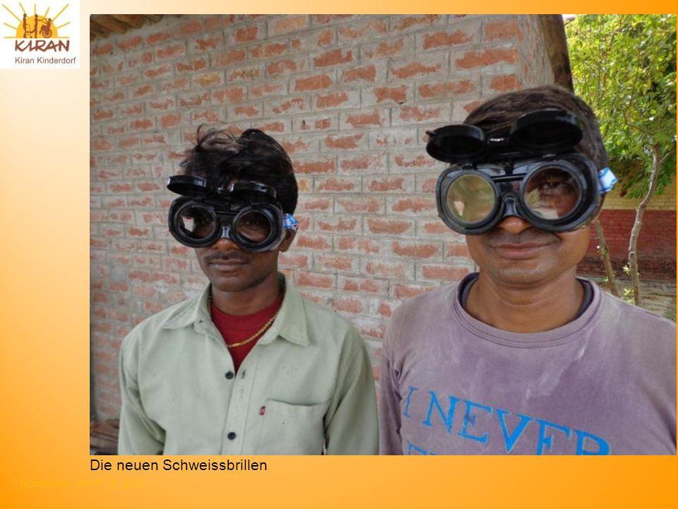 Rotmonten HV 17. 6. 2012 Die neuen Schweissbrillen