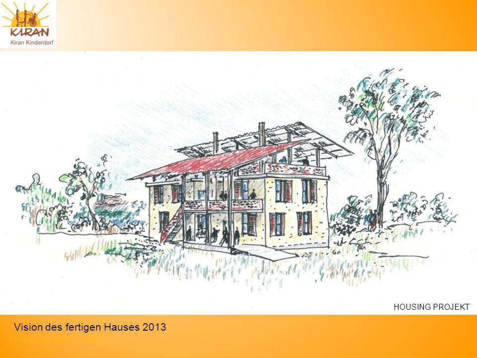 Rotmonten HV 17. 6. 2012 Vision des fertigen Hauses 2013 HOUSING PROJEKT