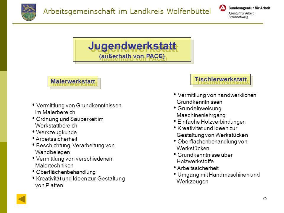 Arbeitsgemeinschaft im Landkreis Wolfenbüttel 24 sonstige Kooperationspartner / weitere Einsatzstellen Herzog-August-Bibliothek Wolfenbüttel Fachhochs