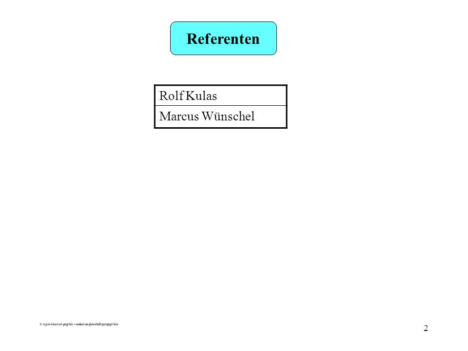 h:eigenedateien:graphik.wandzeitungbeschäftigungspolitik 2 Referenten Rolf Kulas Marcus Wünschel