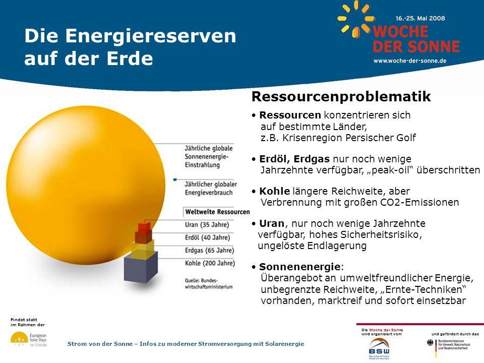 Findet statt im Rahmen der Die Woche der Sonne wird organisiert vom und gefördert durch das Strom von der Sonne – Infos zu moderner Stromversorgung mit Solarenergie Vorsteuer + Gewerbe Alle Anlagenbauer bekommen die Mehrwertsteuer zurück .