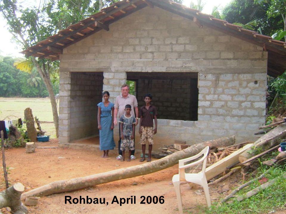 Rohbau, April 2006