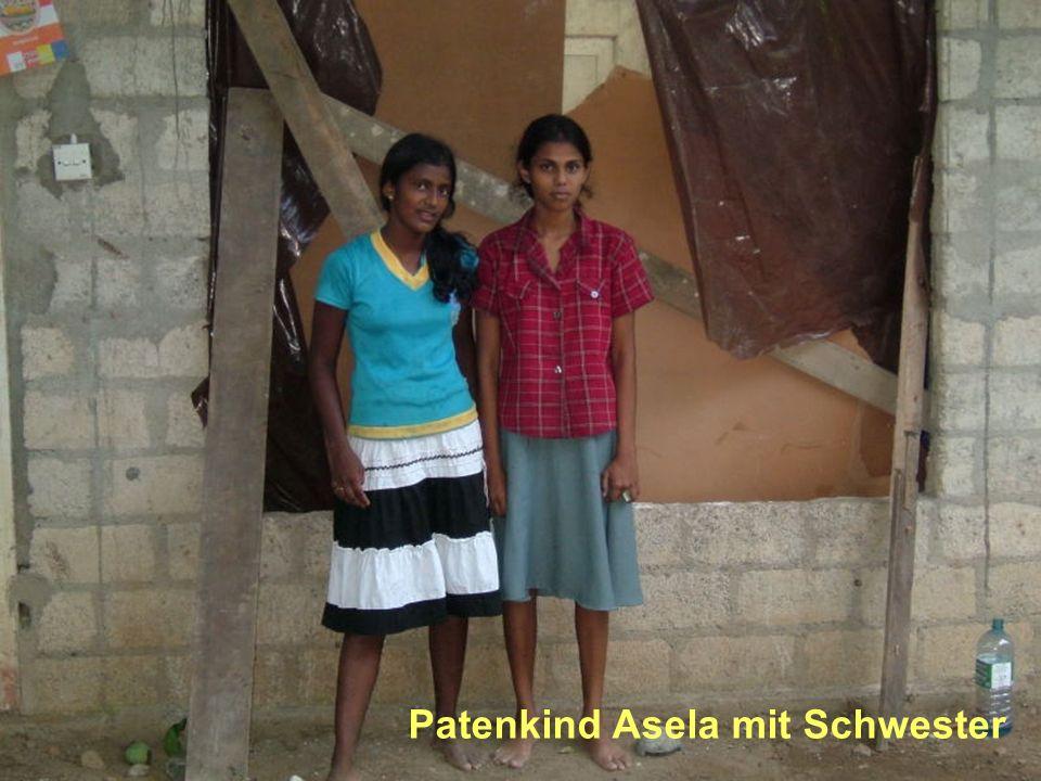 Patenkind Asela mit Schwester