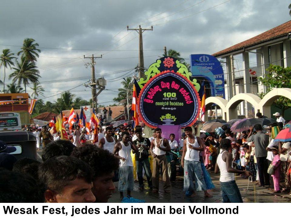 Wesak Fest, jedes Jahr im Mai bei Vollmond