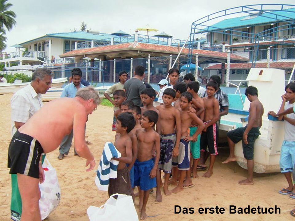 Das erste Badetuch