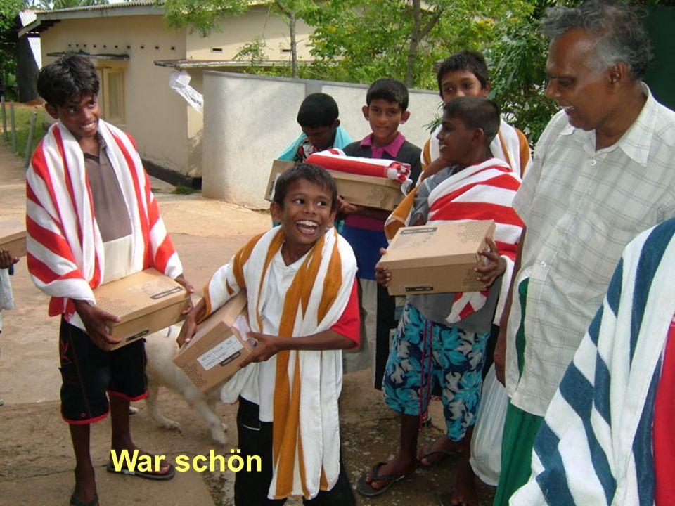 War schön