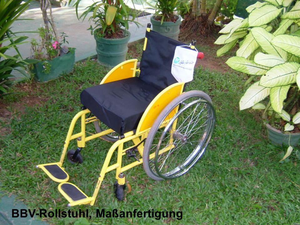 BBV-Rollstuhl, Maßanfertigung