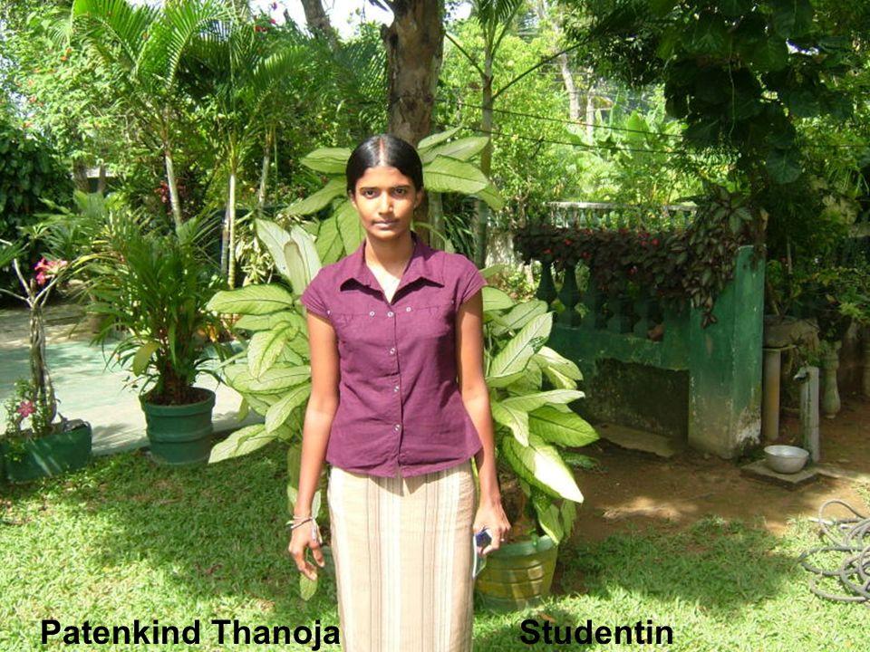 Patenkind Thanoja Studentin