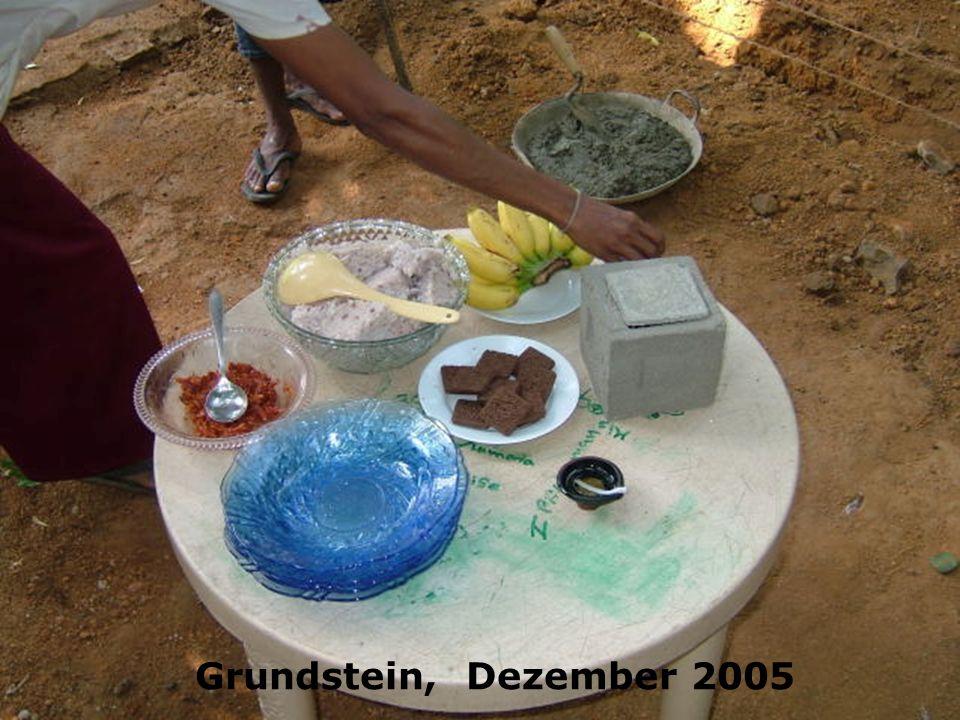 Grundstein, Dezember 2005