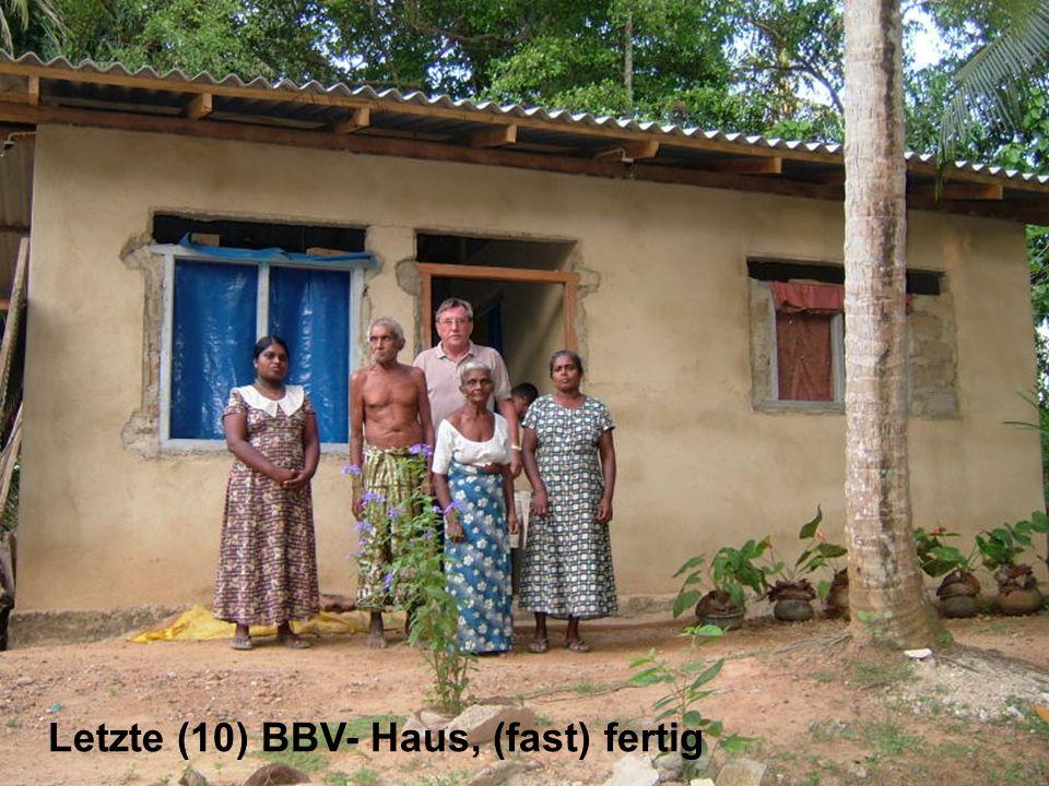 Letzte (10) BBV- Haus, (fast) fertig