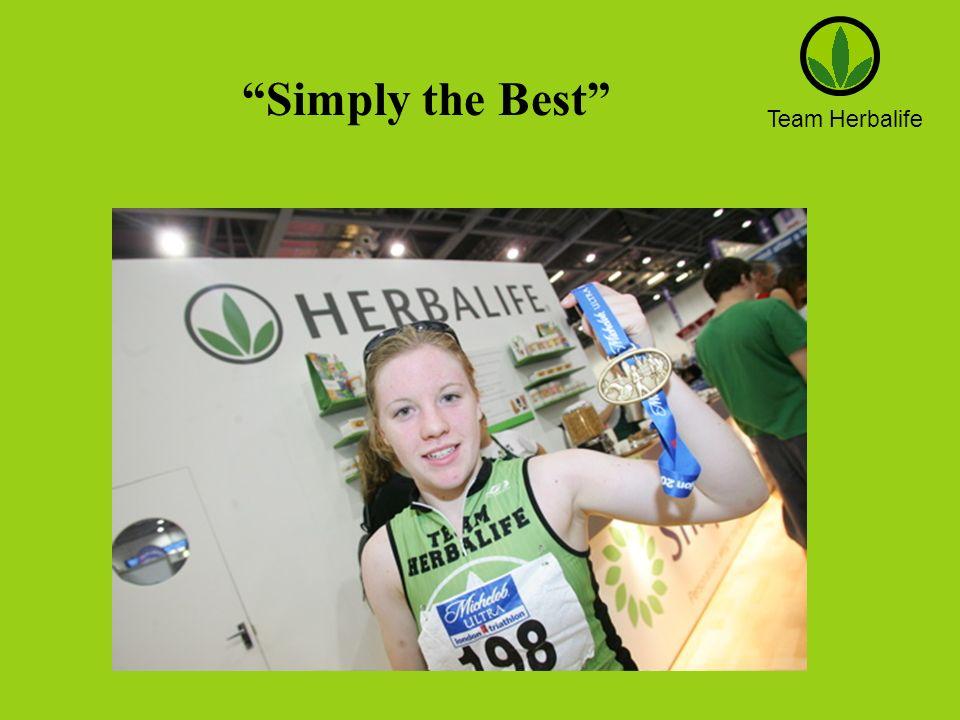 Team Herbalife Simply the Best