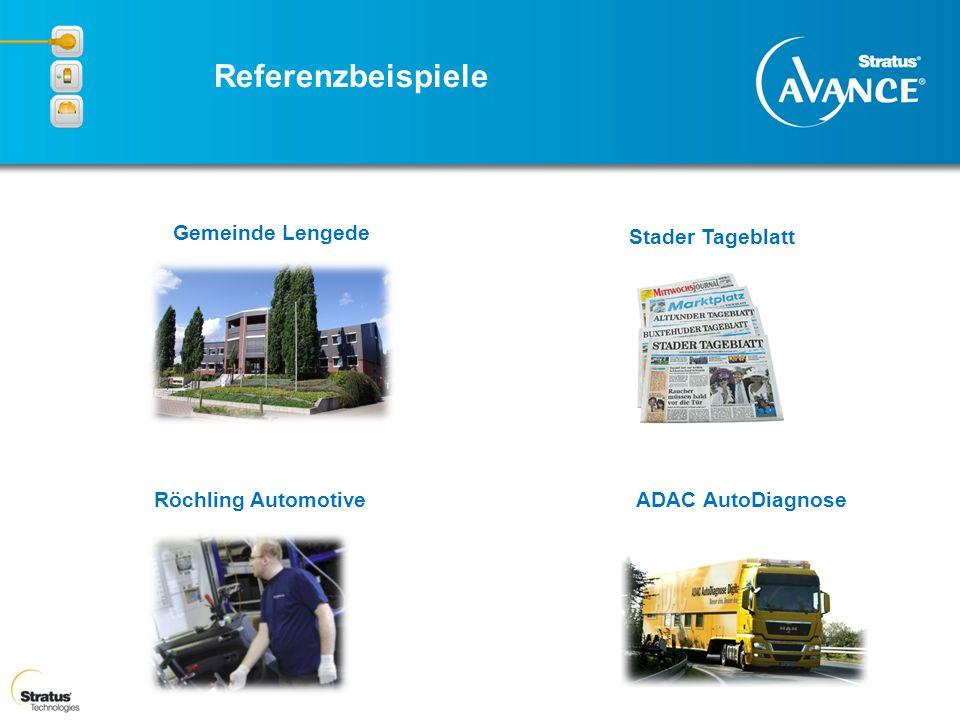 Gemeinde Lengede Stader Tageblatt ADAC AutoDiagnose Röchling Automotive Referenzbeispiele