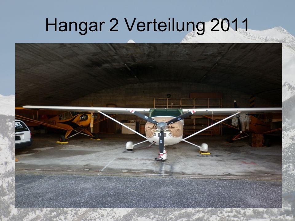 Hangar 2 Verteilung 2011