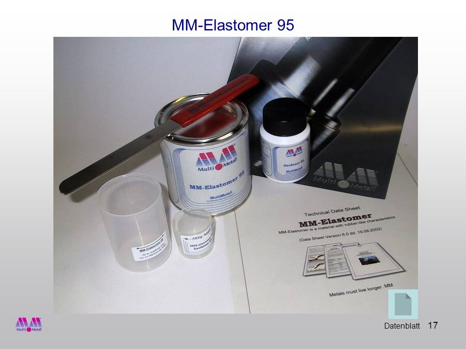 17 MM-Elastomer 95 Datenblatt
