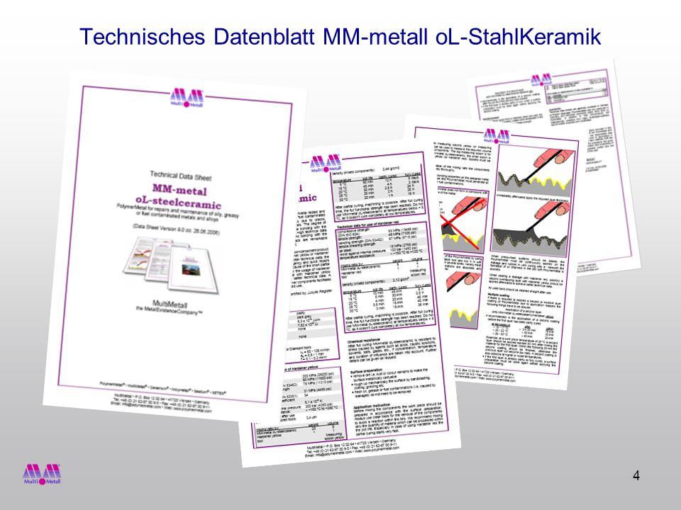 15 MM-metall oL-StahlKeramik Datenblatt
