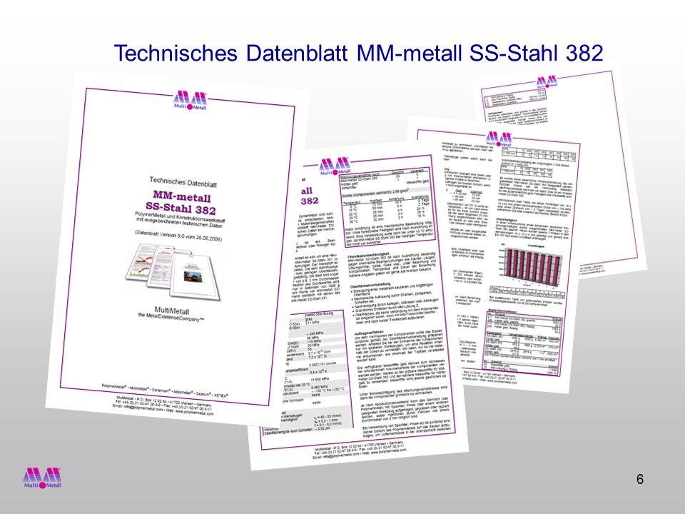 6 Technisches Datenblatt MM-metall SS-Stahl 382