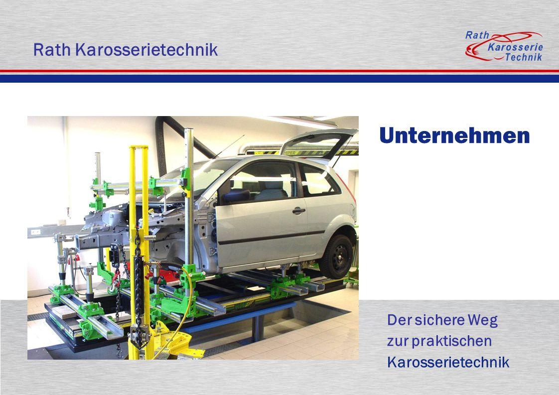 Zur Übersicht Universal Richtsysteme Universalrichtwinkel für jeden Fahrzeugtyp Messdaten sofort verfügbar individuelle, dem Schaden angemessene Aufnahmemöglichkeit Werkstatttechnik