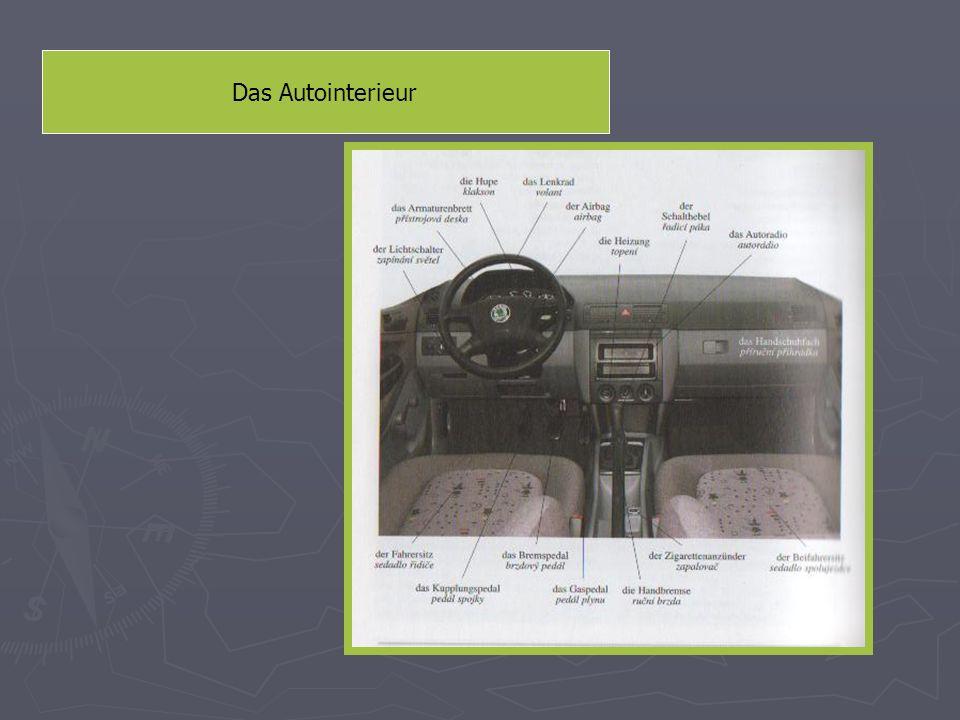 Das Autoexterieur