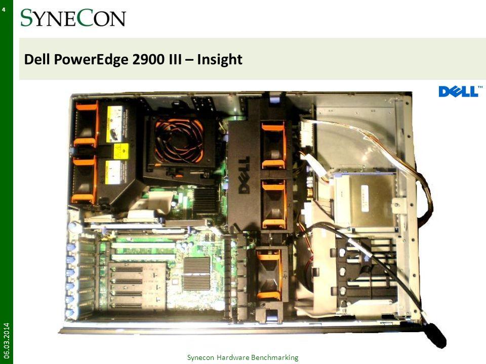 FSC TX200s4 – Rear 06.03.2014 15 Synecon Hardware Benchmarking