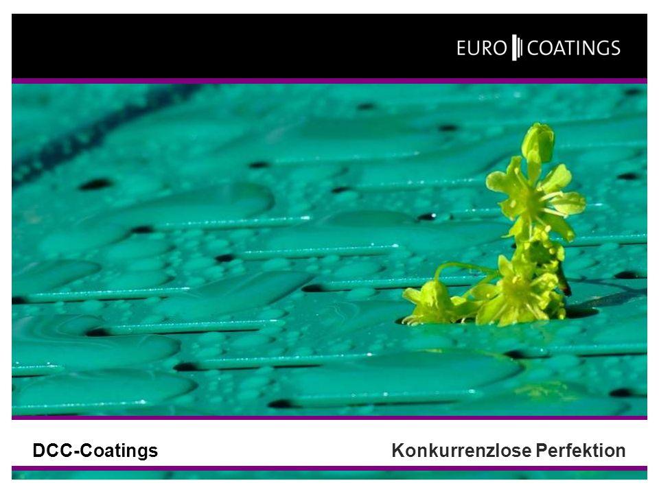 DCC-CoatingsKonkurrenzlose Perfektion