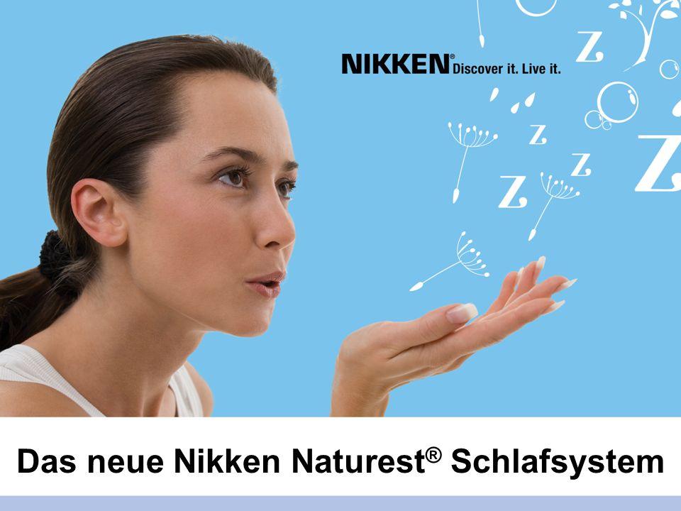 Das neue Nikken Naturest ® Schlafsystem