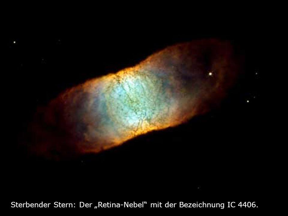 Sterbender Stern: Der Retina-Nebel mit der Bezeichnung IC 4406.