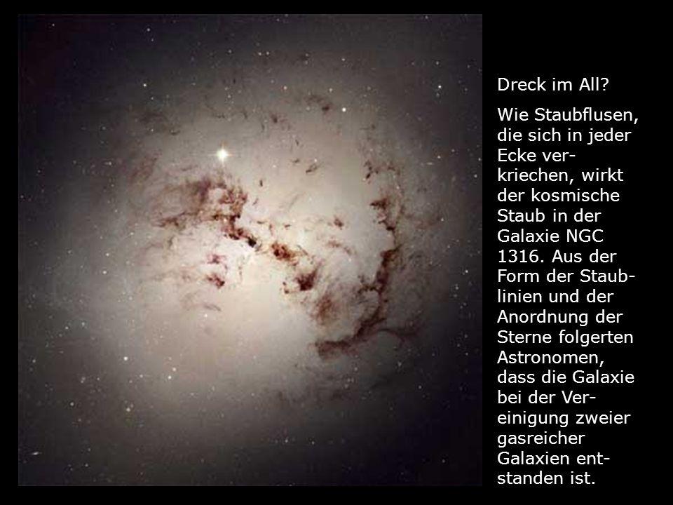 Heiße Geburt: Ein planetarer Nebel entsteht durch massive Gas- ausstöße eines sterbenden Sterns.