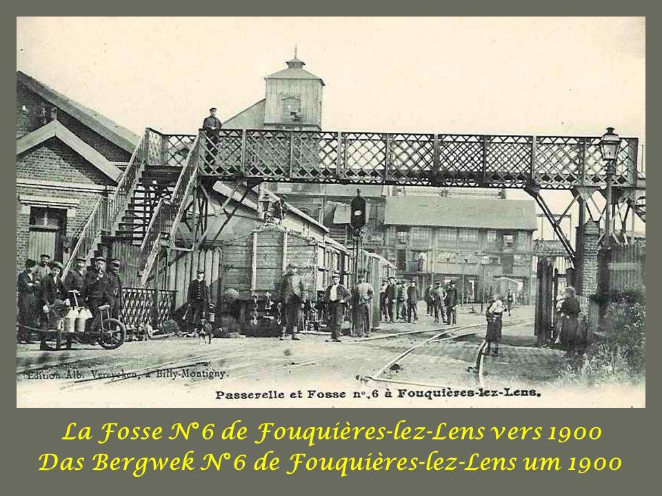 LE METIER DE MINEUR AU DEBUT DU SIECLE DERNIER Das Geschäft der Minenarbeiter Am Anfang des 20ten Jahrhunderts