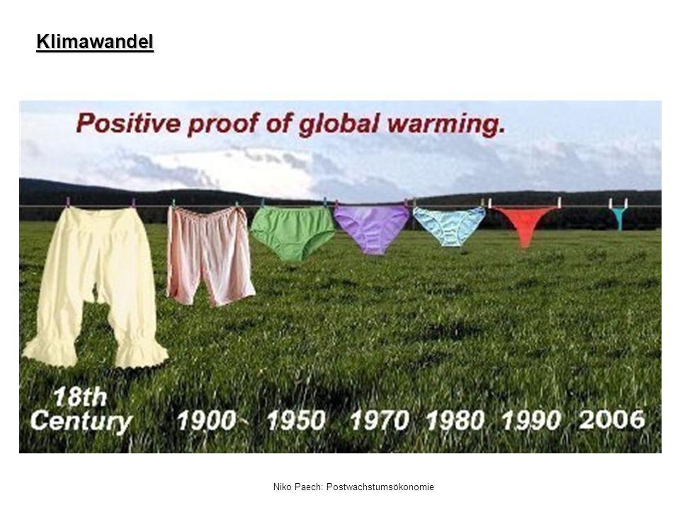 Niko Paech: Postwachstumsökonomie Klimawandel