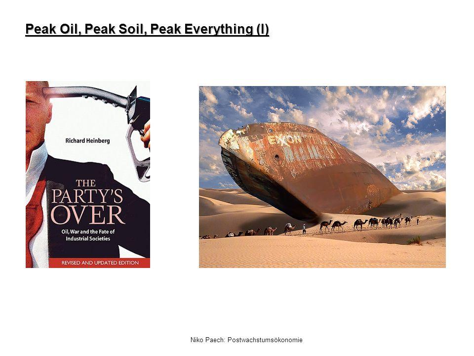 Niko Paech: Postwachstumsökonomie Peak Oil, Peak Soil, Peak Everything (II)